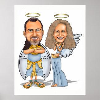Poster SIEN et SON affiche d'ANGES