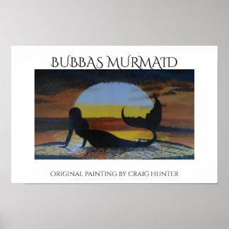 Poster Sirènes de Bubbas