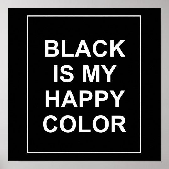 POSTER SKAM - BLACK IS MY HAPPY COLOR