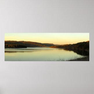 Poster Soirée sur le lac Cowanesque
