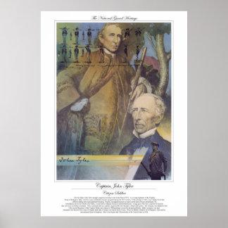 Poster Soldat de citoyen de CAPITAINE JOHN TYLER