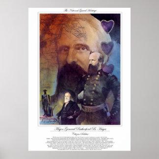 Poster Soldat GÉNÉRAL PRINCIPAL de B. HAYNES Citizen de