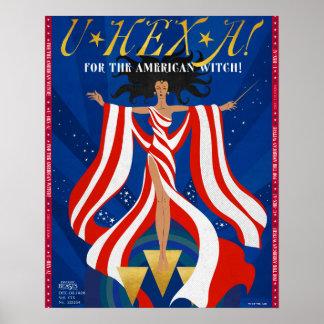 Poster SORTILÈGE d'U une magazine