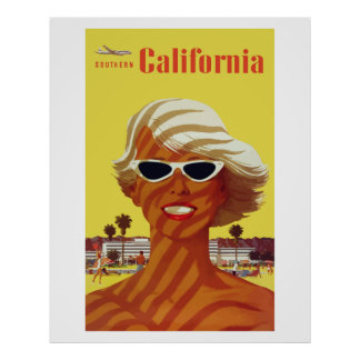 Poster Southern California (Vintage Ads)