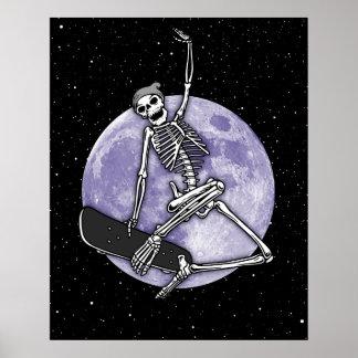 Poster Squelette de conseil