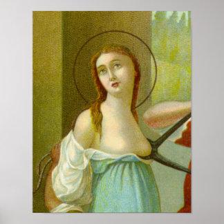 Poster St Agatha (M 003)