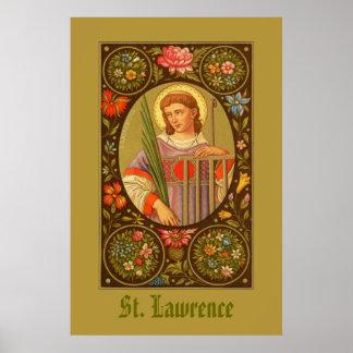 Poster St Lawrence de l'affiche 1 de Rome (P.M. 04)
