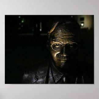Poster Statue en bronze de James Naismith