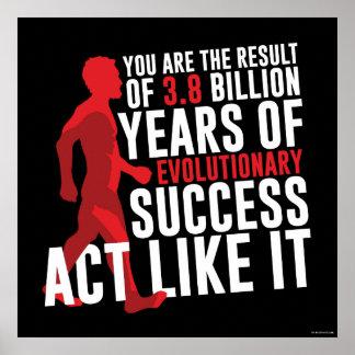 Poster Succès évolutionnaire