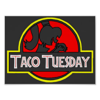 Poster Taco mardi