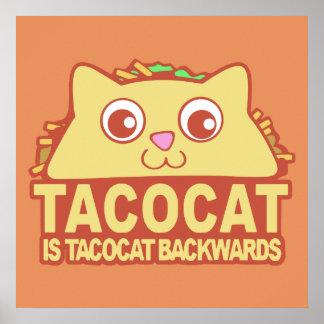 Poster Tacocat vers l'arrière II