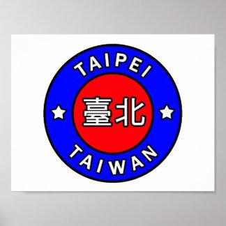 Poster Taïpeh Taïwan