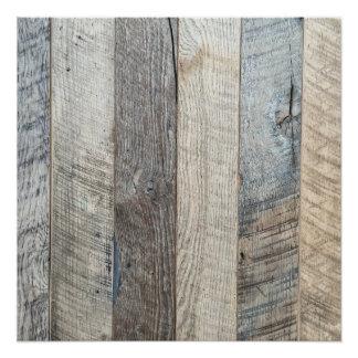 Poster Texture en bois d'arrière - plan de planche de