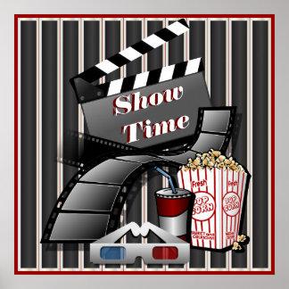 Poster Théâtre de cinéma de Showtime