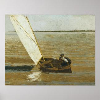 Poster Thomas Eakins - navigation