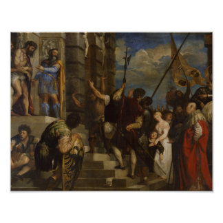 Poster Titian - ecce homo