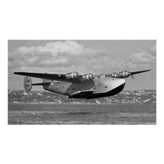 """Poster Tondeuse 16"""" de Boeing 314 x28 """""""