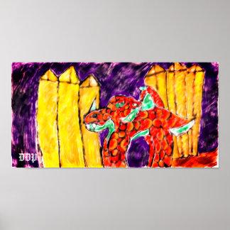 Poster Topaze de dragon
