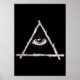 Poster Tout l'oeil voyant