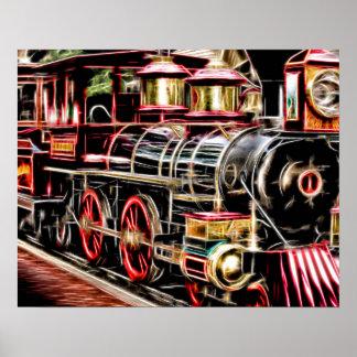 Poster Train de lumière