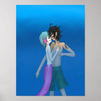 Poster Triton Josh et nageur Lawrence