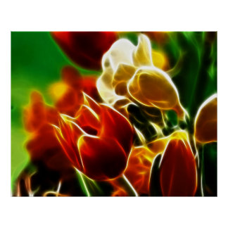 Poster Tulipes adorables