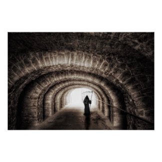 Poster Tunnel de faucheuse