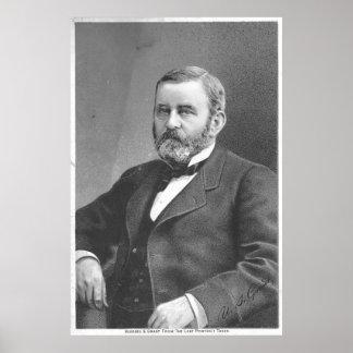 Poster Ulysse S Grant par le grand thé atlantique et