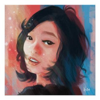 Poster Un autoportrait de Sytlized