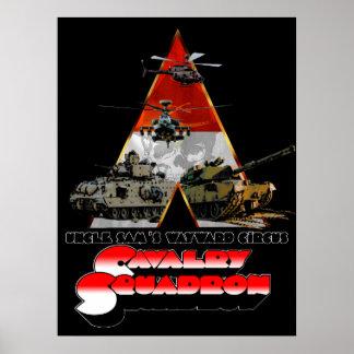 Poster Un rétro-film d'escadron de Cav a dénommé