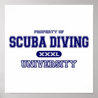 Poster Université de plongée à l'air