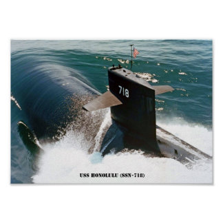 POSTER USS HONOLULU