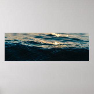 Poster Vague de mer