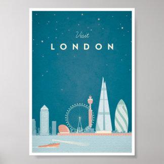 Poster van de Reis van Londen het Vintage