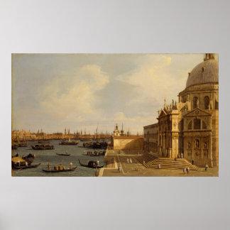 Poster Venise : Salut de della Santa Maria