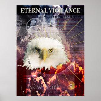 Poster Vigilance éternelle