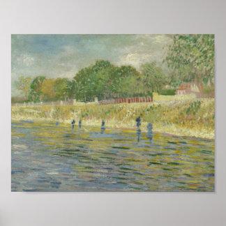 Poster Vincent van Gogh - banque de la Seine