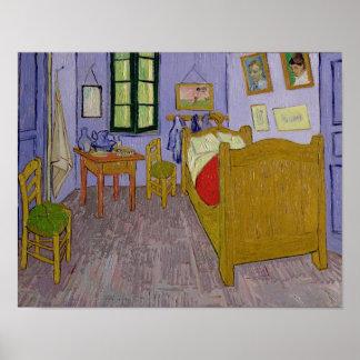 Poster Vincent van Gogh chambre à coucher de | Van Gogh