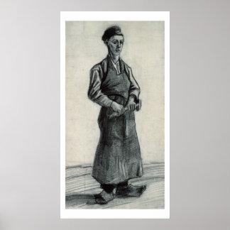 Poster Vincent van Gogh | le jeune forgeron, 1882