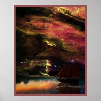 Poster Voile de nuit