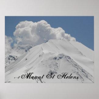 Poster Volcan du Mont Saint Helens