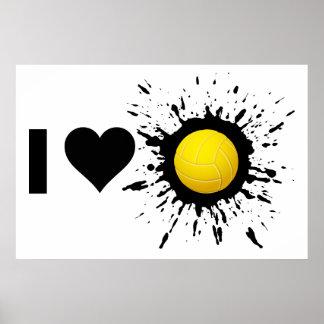 Poster Volleyball 2 d'amour de l'explosif I