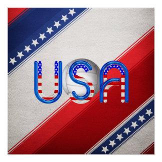 Poster Volleyball SUPÉRIEUR aux Etats-Unis