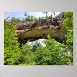 Poster Voûte naturelle, Kentucky