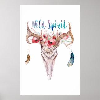 """Poster «Wild Spirit """""""