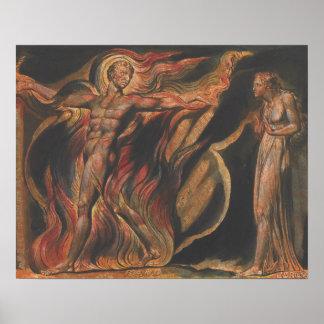 Poster William Blake - Jérusalem, plat 26, de telles