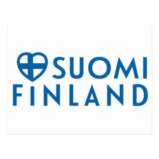 Postikortti de Suomi - de la Finlande Cartes Postales