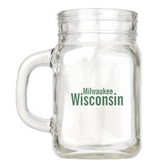 Pot de maçon de Milwaukee, le Wisconsin