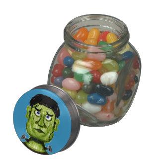 Pot de sucrerie de Frankenstein Pot De Bonbons Jelly Belly