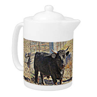 Pot de thé de Sonoran Taureau